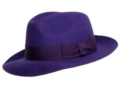 Purple Fedora Hat - Midford